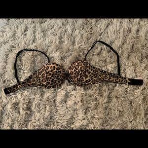 Victoria's Secret PINK Leopard Print Bra